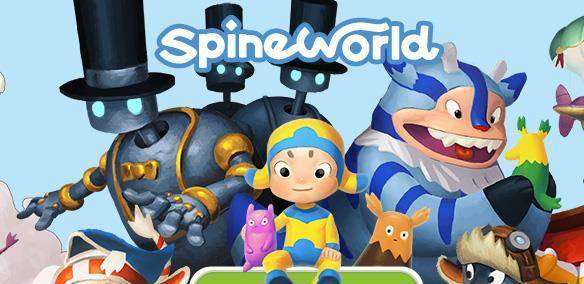 SpineWorld games